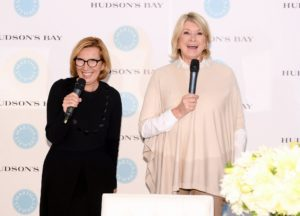 I thanked everyone for attending and talked about my bedding collection, and the wide variety of styles and colors. (Photo by George Pimentel/Getty)