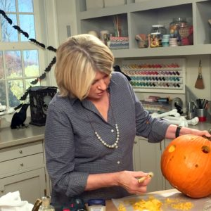 I showed how to coat he holes to prevent rotting and extend the life of the pumpkin. Watch our Facebook LIVE to know what I used - it's something you already have at home.