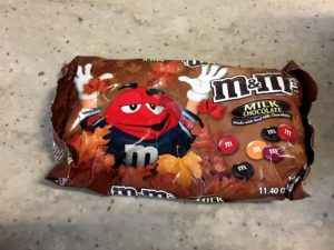 These multi-colored M&Ms are also milk chocolate - my favorite.