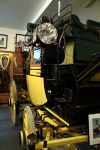 And here is the Traveling Coupe built in 1919.