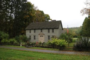 The Mission House in Stockbridge was built between 1739 and 1742 by a Christian missionary to the local Mahicans. It is a National Historic Landmark.