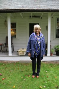 Here I am in front of the house - it was so nice to se it again.