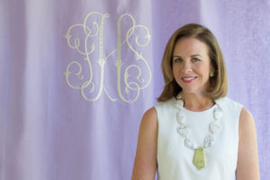 Inspired by her great-grandmother's own monogrammed collection, Jane Scott Hodges, started a company to handcraft heirloom quality linens and feature more contemporary colors and patterns. http://www.leontinelinens.com/
