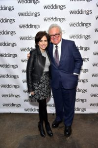 Here are Darcy and Ronnie Rothstein, co-owner of the famous Kleinfeld's Bridal store in New York City. https://www.kleinfeldbridal.com (Photo by Sean Zanni for Patrick McMullan)