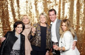 The Hudson Mercantile is one of the largest event spaces in Manhattan - it is 5000 square feet! Here I am with Darcy Miller Nussbaum, my longtime publicist, Susan Magrino, Kevin Sharkey and my makeup artist, Daisy Schwartzberg. http://www.hudson-mercantile.com/ (Photo by Sean Zanni for Patrick McMullan)
