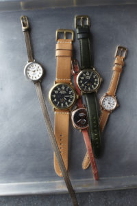 Shinola also manufactures watch straps using a combination of traditional labor-intensive methods and modern hi-tech custom-made Italian machinery.