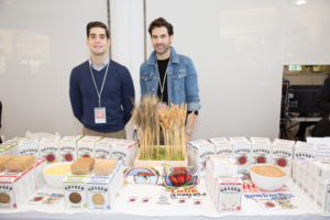 Here are James Zimmerman and Daniel Spelman Hayden of Flour Mills - a family owned business that is devoted to making the freshest and most flavorful flours from the world's oldest varieties of wheat. Hayden Flour Mills was one of our 2014 American Made Honorees. http://www.haydenflourmills.com (Photo by Mike Krautter)