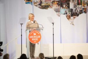 I started the program by welcoming all our guests to our fifth annual American Made Summit. (Photo by Mike Krautter)