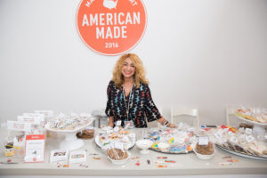 We've known Sweet Dani B for many years. Dani has appeared on my television and radio shows with her sweet and sweetly decorated cookies. http://sweetdanib.com (Photo by Mike Krautter)