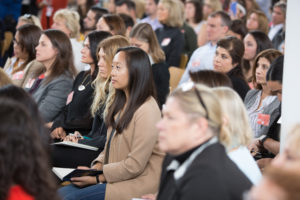 All our entrepreneurial attendees were eager to learn how they could help their businesses grow and succeed. (Photo by Mike Krautter)