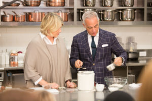 Geoffrey has been on my television and radio shows - we always have such a fun time cooking together. (Photo by Mike Krautter)