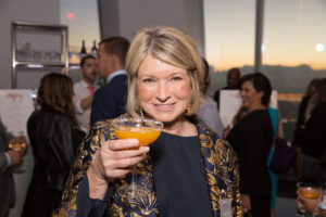It was a wonderful night to toast to this year's winning small business owners and entrepreneurs in the fields of crafts, design, food and style. Cin cin! (Photo by Mike Krautter)
