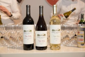 The Robert Mondavi Winery in Napa Valley provided delicious wines - cabernet sauvignon, pinot noir, and fume blanc.
