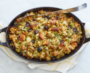 And, my Classic Stuffing with Herbs and Dried Cherries - it can be served inside or outside of the turkey.