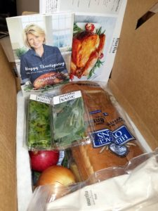 Here were some of the ingredients for the sides - everything was so well packaged.