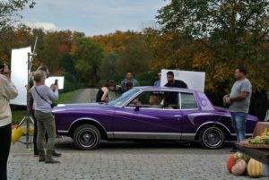 I had so much fun shooting the low rider scene - the car was very bouncy.