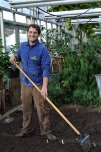 Ryan is pleased with this season's crops. We're looking forward to the first winter harvest.