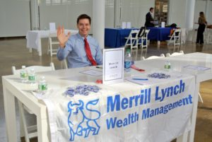 Merrill Lynch representative, Ryan Guthrie, was available to answer questions about its wealth management programs. https://www.ml.com/