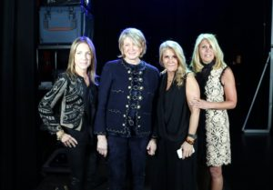 I also had the chance to pose for some photos with some of the Douglas Elliman staff. Here I am with Susan DeFranca, President and CEO of Douglas Elliman Development Marketing, Erica Einfeldt, Director of Administration for Douglas Elliman Real Estate, and Dottie Herman, President and CEO of Douglas Elliman Real Estate. Erica also worked as my executive administrative manager several years ago.