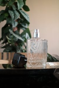 And the room spray is in this matching faux bois glass bottle. goo.gl/4fNFRU