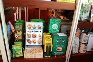 """... """"Martha Stewart's Appetizers"""" - it was very nice to see them both on the shelf. Also on the shelf is a copy of """"Russ and Daughters"""", a book about one of my favorite family-operated food stores in New York."""
