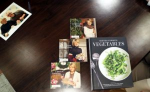 Someone brought in their Martha Stewart holiday CDs for me to sign, along with the book. http://www.marthastewart.com/1504185/martha-stewarts-vegetables-new-cookbook