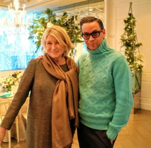 Here I am with James Aguiar, National Style Director of Modern Luxury.
