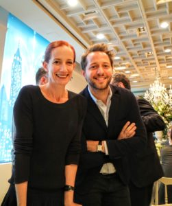 Vanessa Friedman from The New York Times and  Derek Blasberg  of Vanity Fair
