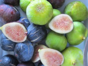 One of the many joys of the late-summer harvest is biting into a sweet, juicy, plump fig from my own trees.