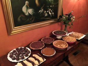 Here is the dessert buffet.
