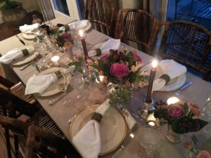"This is the ""kids"" table - so pretty."