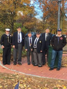 They were all very happy to take part in the town's various Veterans Day events. Thank you to all our American Veterans who have served our country.