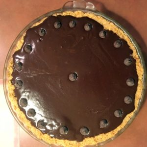 And here's a chocolate peanut butter pie.