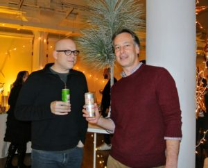Here are Mike Winner and Paul Delmiche enjoying the Sixpoint beers. We had Sixpoint Bengali, Sixpoint Resin, Sixpoint Sweetaction and Sixpoint Crisp. http://sixpoint.com