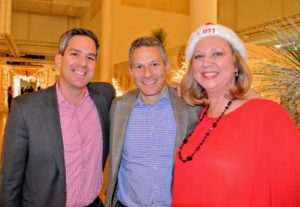 Our EVP of strategic development and operations, Chad Wagenheim, president of Sequential Brands Group, Andrew Cooper, and SVP of video development and programming, Kim Miller-Olko