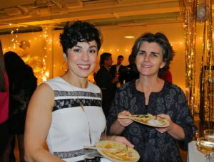 Editor-in-chief of Weddings, Amy Conway, and Ellen Morrissey, our SVP editorial director of Living content and books.