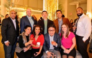 A group shot with Erwin Kersellius, Joe Wertz, Angus Chen, Angelo Cardenas, Gregory Mathis, Ana, Josefa, Levi and Sonya Nguyen.