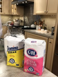 "Thank you to Domino for being a steadfast sponsor and supporter of our Facebook LIVE broadcasts and my television show, ""Martha Bakes"". Domino is used on the east coast, while their C&H brand sugar is used on the west coast. https://www.chsugar.com https://www.dominosugar.com"