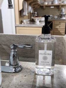 "My newest collection from Macy's is called ""From the Garden"" and includes this White Flowers hand soap, with a lush bouquet of fresh white flowers, blooming with gardenia, tuberose and jasmine. goo.gl/zBx9DA"