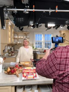 "We love doing these Facebook LIVE shows - I shoot one nearly once a week when I am not traveling. Many of them are done right here in our Martha Stewart Living ""Turkey Hill Kitchen"" from The Home Depot. http://www.homedepot.com/c/SPC_BRD_MSL_Kitchen"