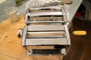 I've been using a hand cranked pasta maker for years. This machine really presses the dough well.