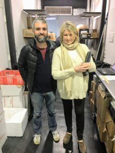 Here I am with Nazzareno Miele from Urbani Truffles in New York City just before I left for Maine. The truffles I purchased were just harvested the day before - I was so excited.