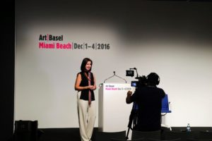 The Art Basel Miami show has been running since 2001. It receives lots of press and coverage each year.