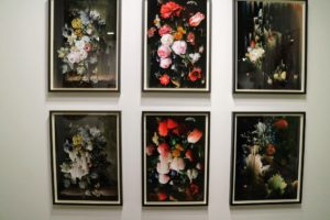 I loved these botanical prints by Suzanne Treister  called The Gardener, 2014.