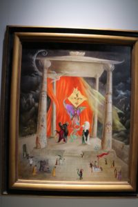 This is called Temple of the World, 1954 from the Mary-Anne Martin Fine Art gallery.