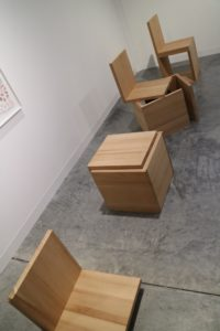 A Chair Not a Chair (Cube Variations I, II, III, IV) by Mateo Lopez