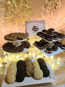 For dessert, we had a selection of wonderful cookies from Milk & Cookies Bakery. http://milkandcookiesbakery.com