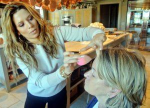 Daisy uses Yves Saint Laurant's Top Secret Moisture Glow Primer - a lightweight moisturizer that primes the skin for makeup. http://www.yslbeautyus.com/
