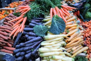 And, so many different colored carrots. As you know, from seeing the carrots I grow at my farm, these vitamin-packed vegetables come in an array of colors - red, yellow, white, purple, and of course, orange.