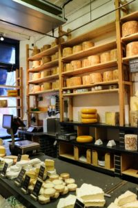 We had to stop in at Neal's Yard Dairy, a beautiful shop that offers nearly every cheese imaginable. https://www.nealsyarddairy.co.uk